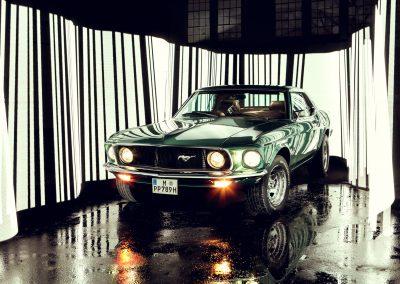 Barcode Mustang