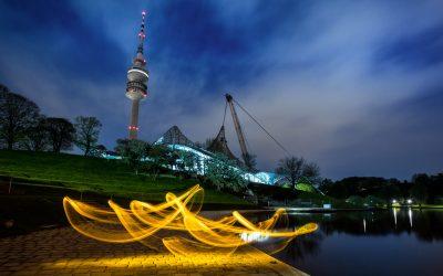 Lightpainting Stammtisch in München