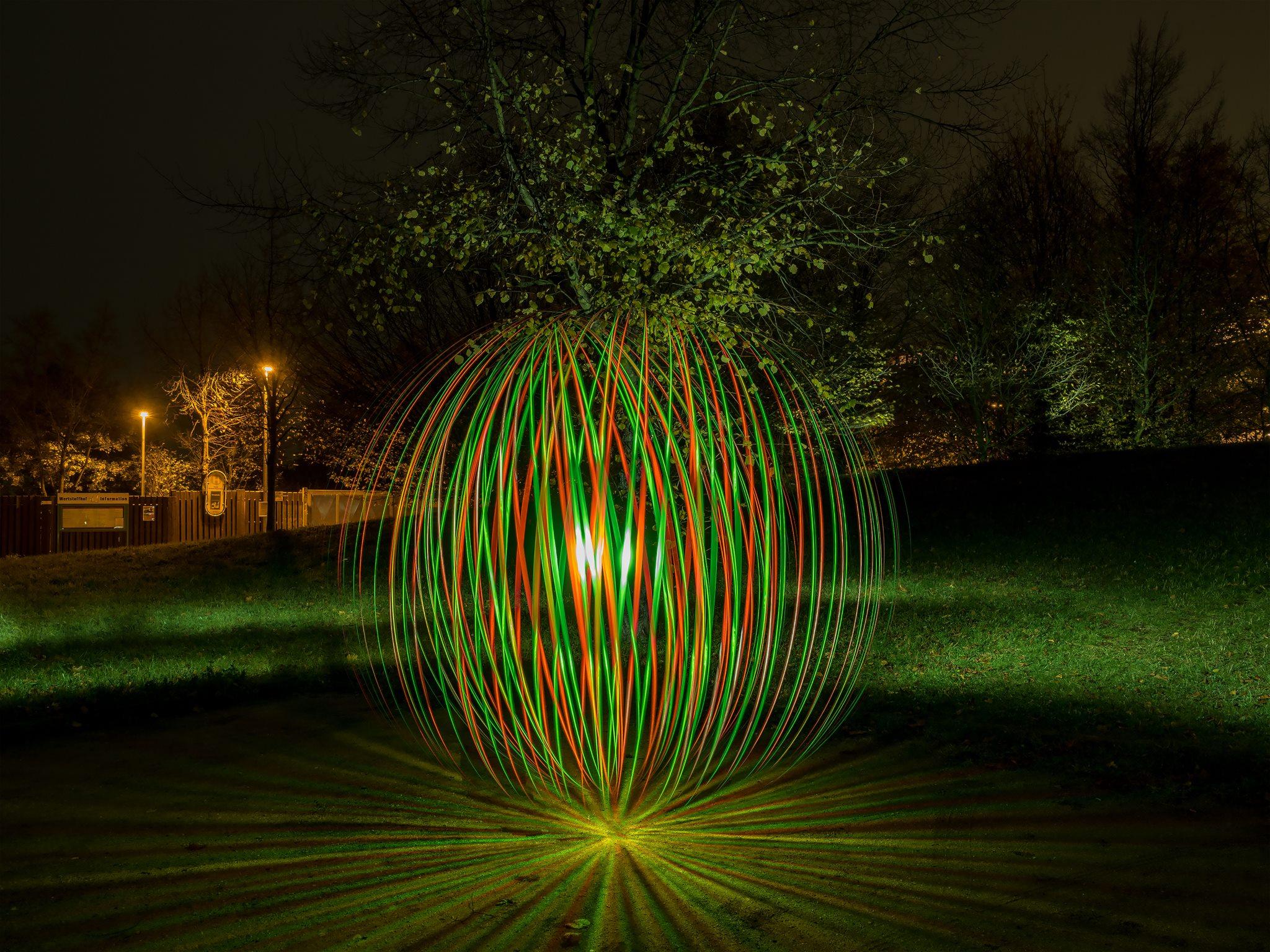 Orb Tool Light Painting zweifarbig