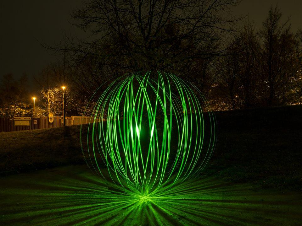 Orb Tool Light Painting