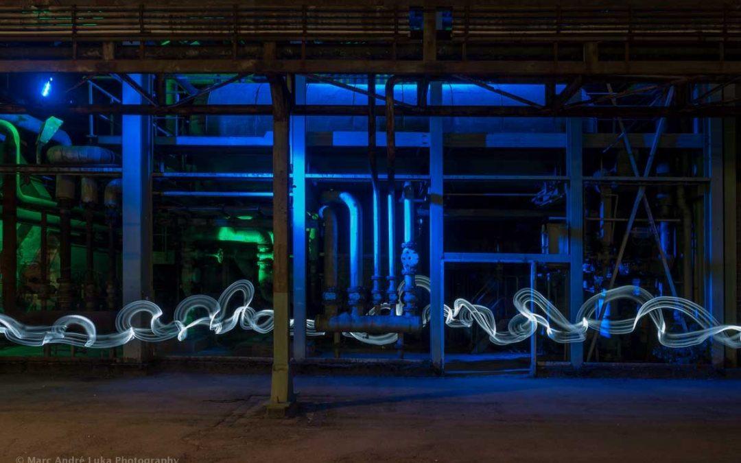 Lightblades abkleben mit Marc Luka