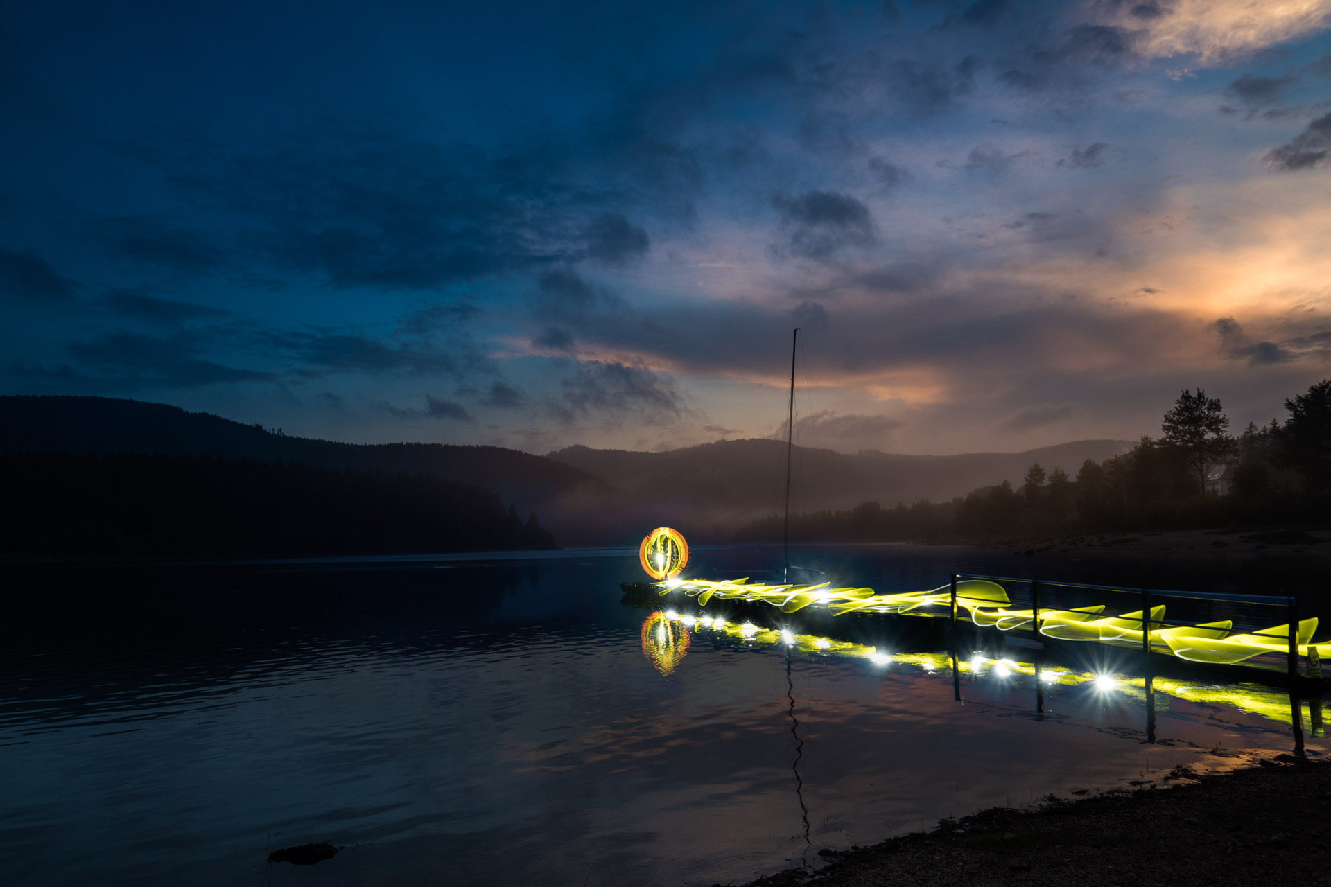 Schluchsee Lightpainting Workshop