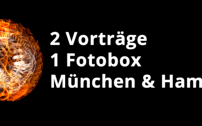 Termine in München (25.10.) & Hamburg (8.11.)