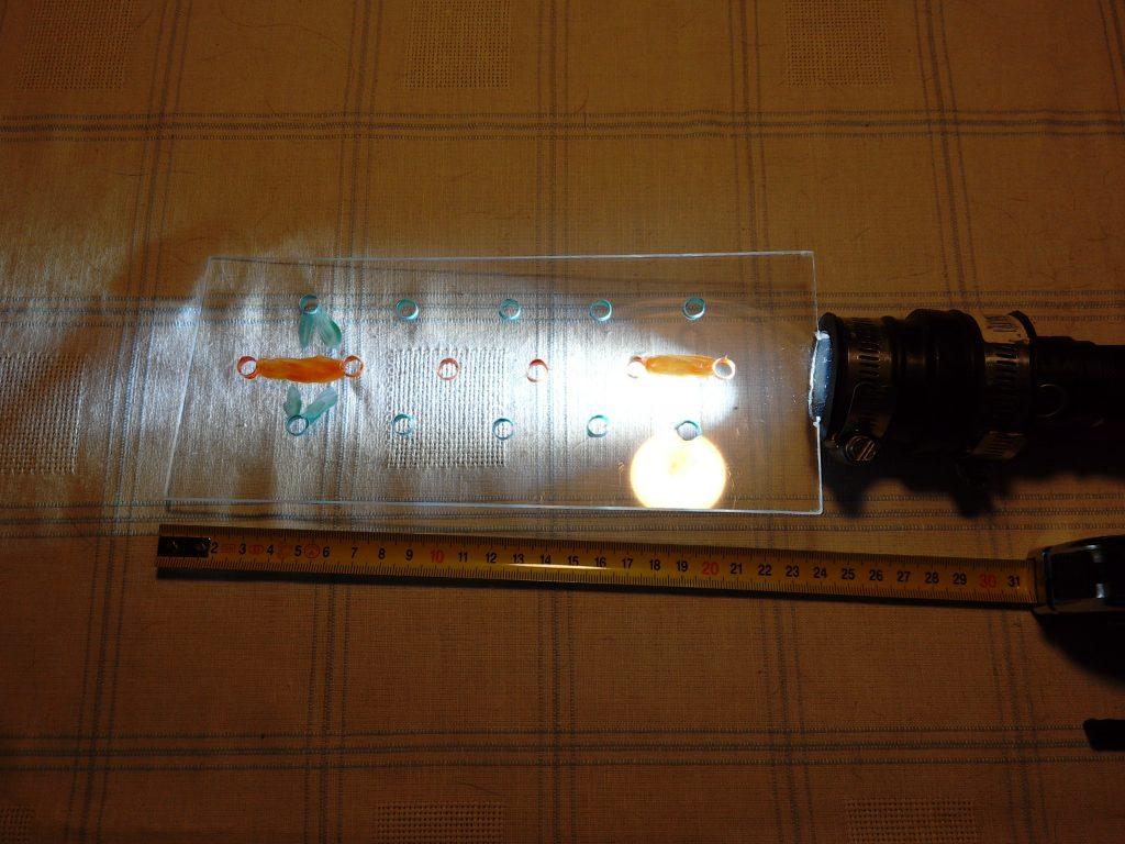 Lightblade mit Löchern
