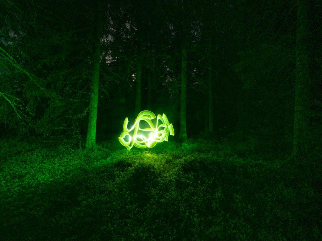Lightpainting Workshop Schluchsee 3