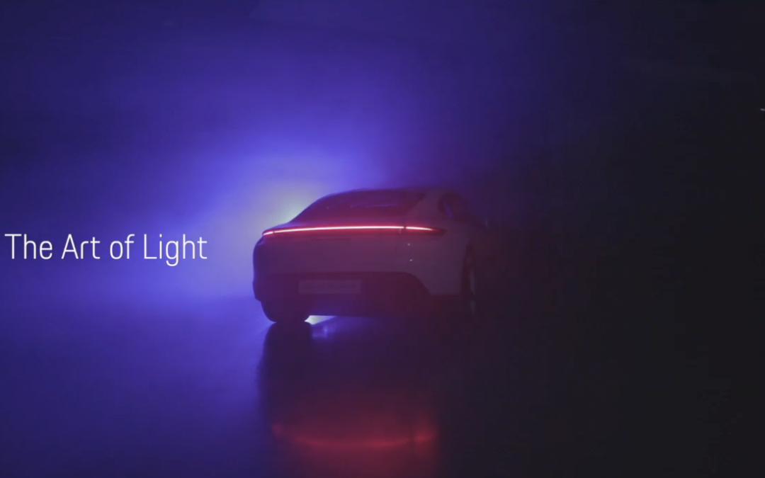 Porsche Taycan: Lightpaintings, Video, Berichte, Toolbau-Anleitung